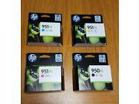 951XL Hp ink jet colour cartridges