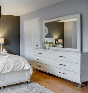 Designer Dresser with Mirror