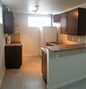 Large renovated 2 bdrm basement suite available Nov1 Uti Inluded
