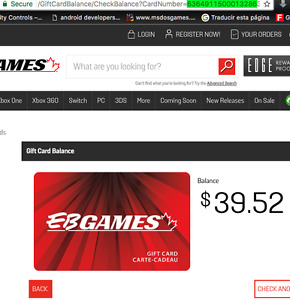 $39.52 EBgames GC for Chromecast, Android TV, Apple TV or $30
