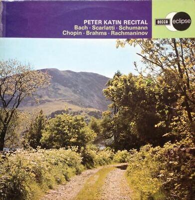 Peter Katin Recital LP (UK 1971) : Peter Katin