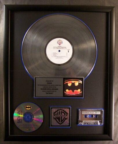 Prince Batman Soundtrack LP Cassette CD Platinum Non RIAA Record Award