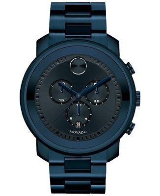 MOVADO Bold  Dark Navy Dial Blue Ion-plated Men's Watch 3600279 Dark Navy Blue Dial