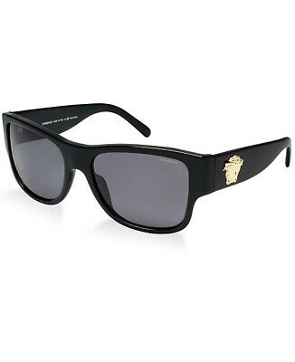 Versace VE4275 58 Grey-Black & Black Polarized Sunglasses‎