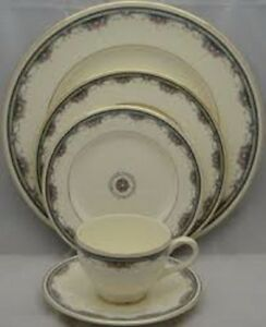 Albany pattern Royal Doulton China place settings perfect condit