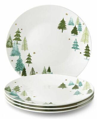 Lenox Balsam Lane 4-piece Dinner Plate Set 10'5  (NEW IN BOX) 4 Piece Dinner Plate Set