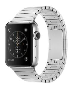 Apple Watch with Silver Link Bracelet - 42mm Series 2