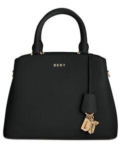 DKNY Paige Large Satchel Black