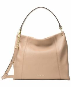 Michael Kors Lex Large Convertible Hobo Oyster Gold