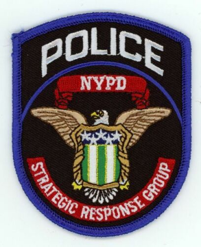 NEW YORK CITY STRATEGIC RESPONSE GROUP NEW PATCH