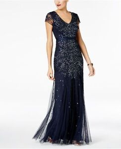 Navy Gown, Size 10