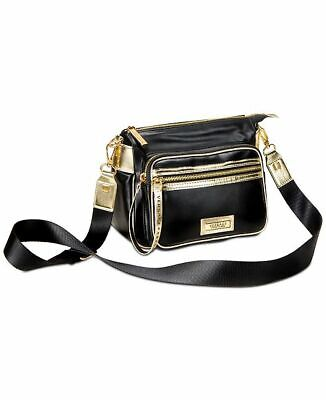 VERSACE WOMENS BLACK SHOULDER BAG / CROSSBODY BAG WITH DUST BAG *NEW
