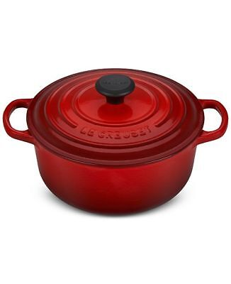 Le Creuset Round Dutch Oven, 2.75 qt. in Cherry, New