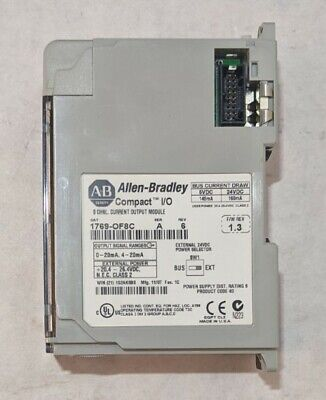 1769-of8c Allen Bradley Compact Io Analog Output 1769of8c 163a
