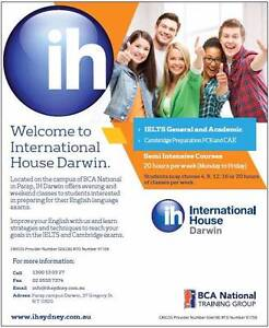 English classes (General English, IELTS, FCE/CAE) in Parap Parap Darwin City Preview