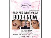 Prom / Event make up - qualified make up artist