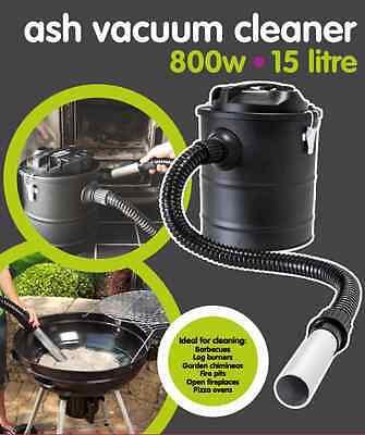 800W Fireplace Stove Log & Wood Burner Vacuum Cleaner Ash Vac Workshop Hoover