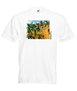 T-Shirt-girocollo-manica-corta-WT0011-ArT-shirt-Paul-Cezanne-Bibemus-quarry