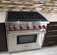 Certified appliances installation professionally 6472809325