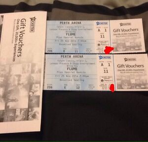 2x FLUME TICKETS Atwell Cockburn Area Preview