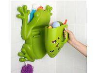 Boon bath scoop frog Wall Mounted bath tidy