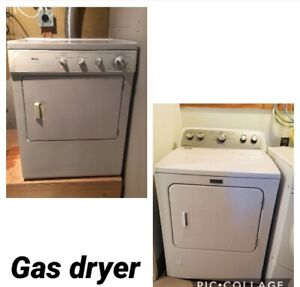 Kenmore gas dryer washer work condition delivery available