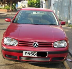 VW Golf Bonnet Breaking For Parts (2001)