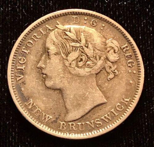 CANADA - New Brunswick - Queen Victoria - 20 Cents - 1862 - KM-9 - Very Fine