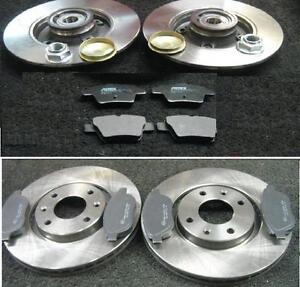 peugeot 207 1 4 1 4hdi sw front rear brake discs pads front discs 266mm ebay. Black Bedroom Furniture Sets. Home Design Ideas