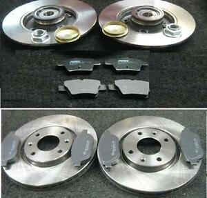 peugeot 207 1 6hdi sport 207cc vt front rear brake discs pads front discs 283mm ebay. Black Bedroom Furniture Sets. Home Design Ideas