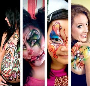 Maquillage artistique, enfants, fx et art corporel.
