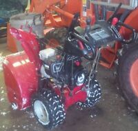 """27"""" 3 year old Craftsman Snow blower DELIVERY"""
