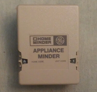 X10 Appliance Module ~ IVORY GE Home Minder (AM486) ~ Used / Tested / Works Fine