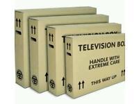 Empty TV boxs and any boxs wanted
