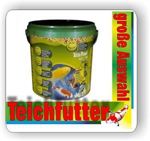 Tetra pond bastoni 10 litro secchio mangime principale per for Pesci di stagno