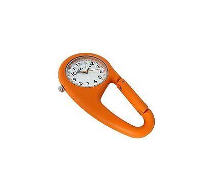 New Ravel Belt Clip On Watch Orange Quartz Bracelet Fashionable Sporty Attach