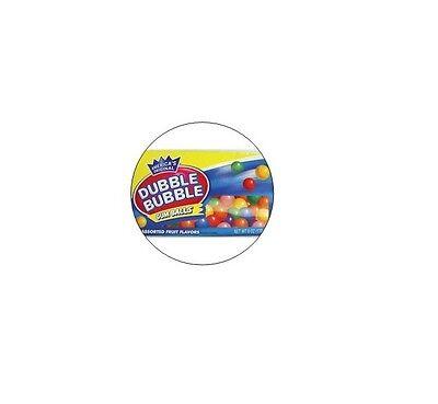 24 Double Bubble Gum Stickers - 1.5 Diameter Vending Machine Stickers