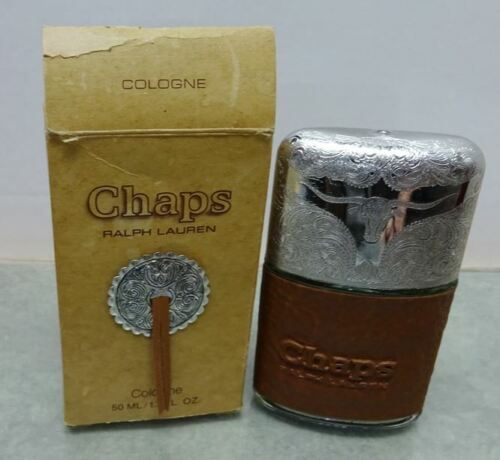 Vintage Ralph Lauren CHAPS COLOGNE 1.7 oz. 50 ml. Splash / Dab on New In Box