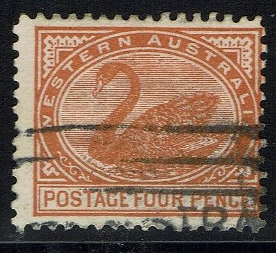 Western Australia SG# 142a, Pale Chestnut, Used -  Lot 010216
