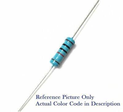 470k Ohm 1 Watt 1w 1 Tolerance Metal Film Resistor 10 Pieces