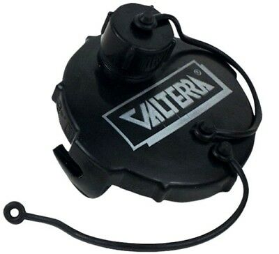 Valterra Sewer Cap with Hose Connection RV Camper Trailer (Rv Sewer Cap)