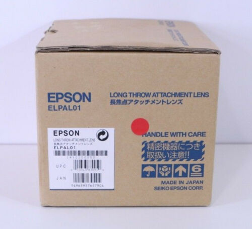 Epson ELPAL01 Long Throw Projector Attachment Lens LNIB