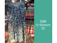 Girls summer clothes and dresses kids clothes
