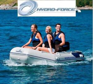 NEW BESTWAY INFLATABLE BOAT RAFT 13472 197550510 Hydro Force Mirovia Pro 130 Inch OUTDOOR WATER SPORTS