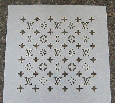 Designer Cake Decorating Stencil 3LV (8x8 in.) fondant gum paste cup cake