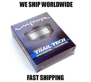 TRAIL-TECH-VAPOR-BLACK-STEALTH-SPEEDOMETER-TACH-CONVENTIONAL-FORKS-752-704