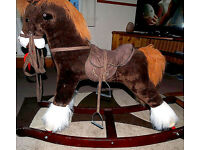 Rocking horse, large, suitable for children up to approx 5/6 years old