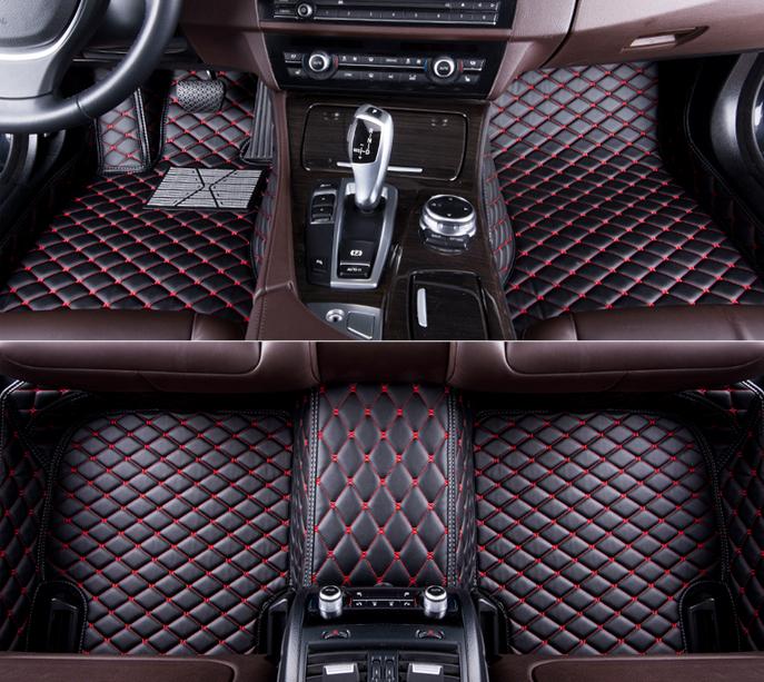 Auto-Fußmatten nach Maß für Mercedes-Benz M-Klasse GLE W166