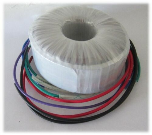 AS-1220 100VA 20V + 20V / 40Vct Toroidal Audio Power Transformer