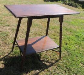 Beautiful Dark Wood Side Table